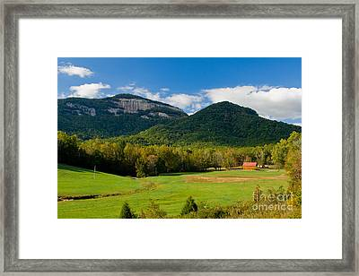 Table Rock Scenic Framed Print
