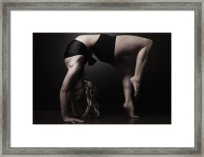 Table Top Framed Print by Monte Arnold
