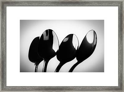 Tablespoons Framed Print by Jesse Castellano