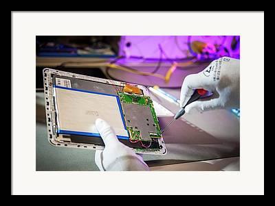 Tablet Computer Framed Prints
