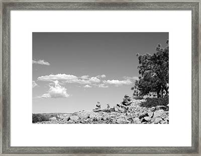 Tabletop Mountain Framed Print by Nathan Anglin