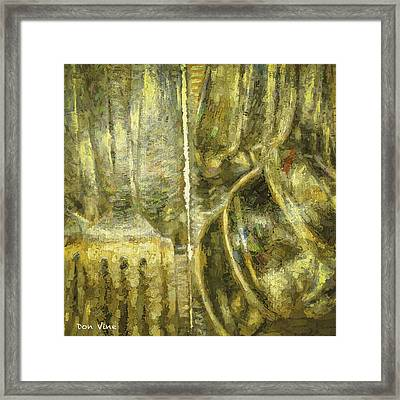 Tableware Framed Print