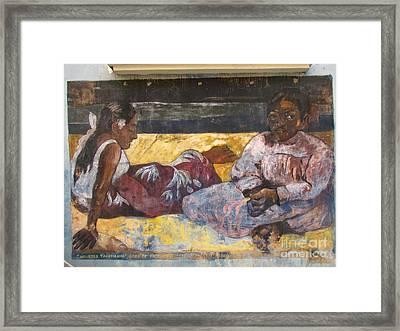 Taboga History Painting Framed Print