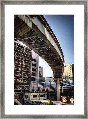 Tachikawa Monorail II Framed Print by Rscpics