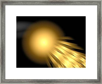 Tacitus Grampus Framed Print by Jeff Iverson