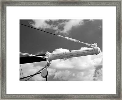 Tackle 1 Framed Print