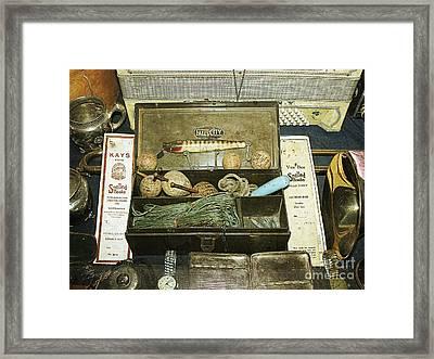 Tackle Box Framed Print