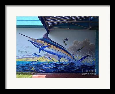 Sportfish Boat Framed Prints