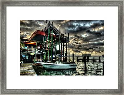 Framed Print featuring the digital art Tacky Jack Morning by Michael Thomas