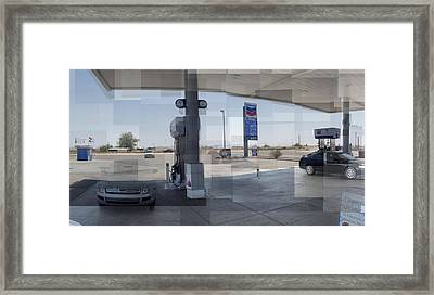 Tacna Gas Framed Print