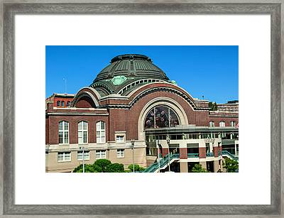 Tacoma Court House At Union Station Framed Print