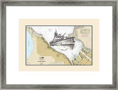 Tacoma Fireboat Framed Print