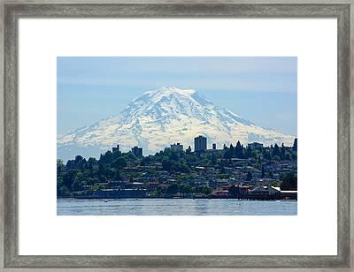 Tacoma Rainier Framed Print
