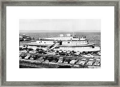 Tacoma Ship Restaurant Framed Print