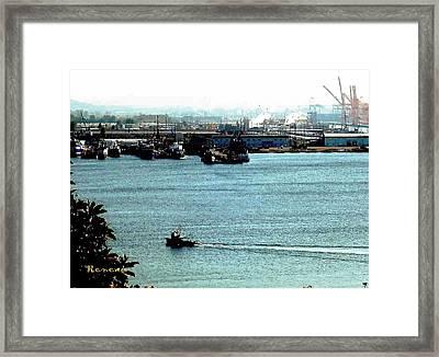 Tacoma Tugboat  Framed Print