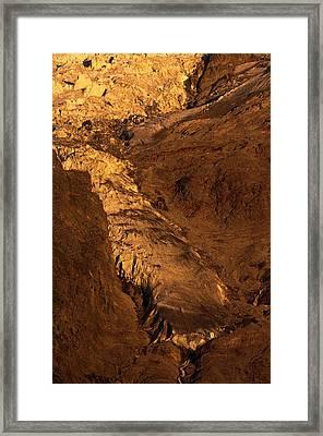 Taconnaz Glacier Framed Print