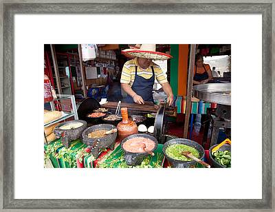Tacos Framed Print
