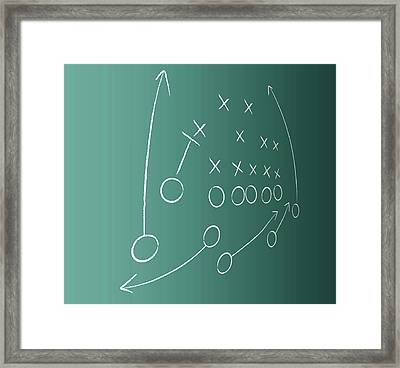 Tactical Plan Framed Print by Lvcandy