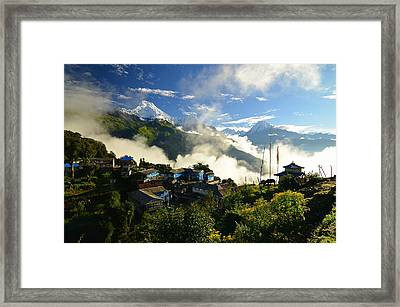 Tadapani Sunrise Framed Print