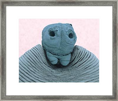 Taenia Tapeworm Framed Print by Thierry Berrod, Mona Lisa Production