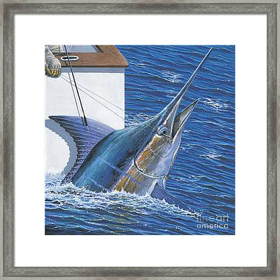 Tagged Off00105 Framed Print by Carey Chen