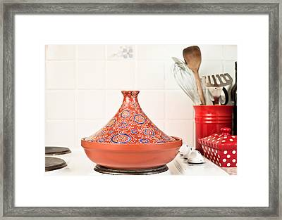 Tagine Framed Print