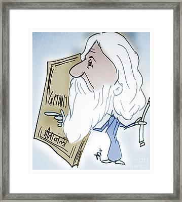 Tagore Framed Print