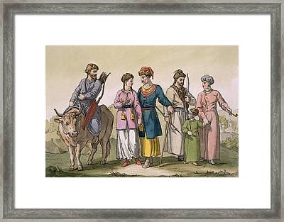 Taguri Tatars Of The Crimea Framed Print