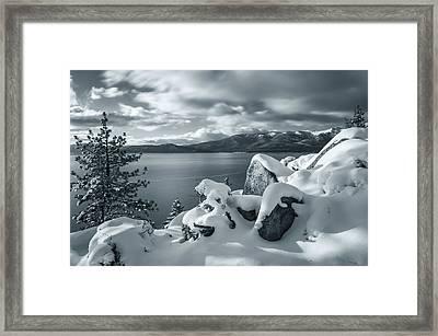 Tahoe Wonderland Framed Print