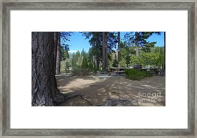Framed Print featuring the photograph Tahoe's Summer Invitation by Bobbee Rickard