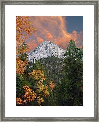Tahquitz Peak - Lily Rock  Framed Print