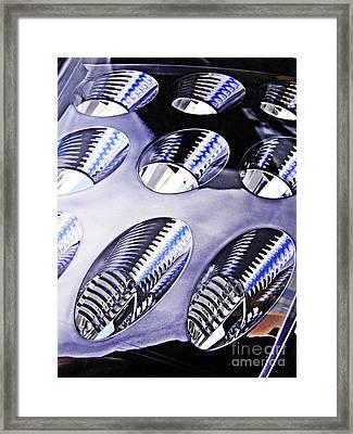 Tail Light Detail Framed Print