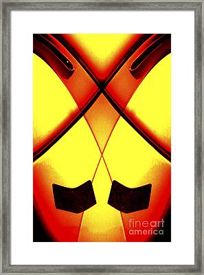 Tail Lights - Special Effects  Framed Print