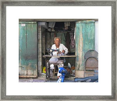 Tailor Framed Print
