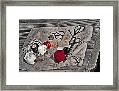 Tailor Tools Turn Of The Century Framed Print