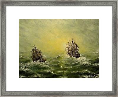 Tailwind Framed Print by Svetla Dimitrova