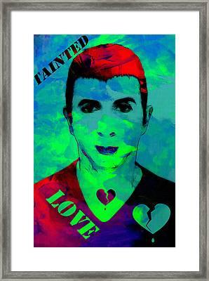 Tainted Love Framed Print by Steve K