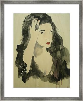 Tairrie Framed Print