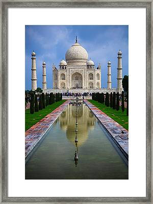 Taj Mahal - India Framed Print by Matthew Onheiber