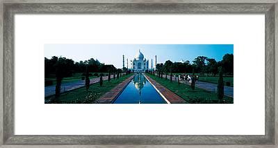 Taj Mahal Agra India Framed Print