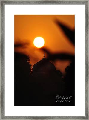 Taj Mahal- Agra India Framed Print by Vineesh Edakkara
