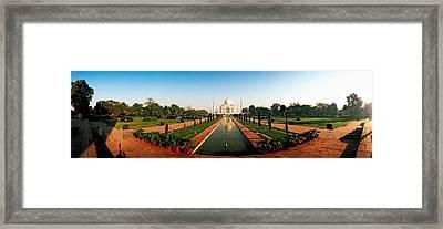 Taj Mahal, Agra, Uttar Pradesh, India Framed Print