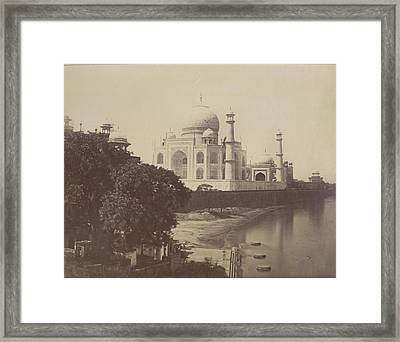 Taj Mahal Framed Print by British Library