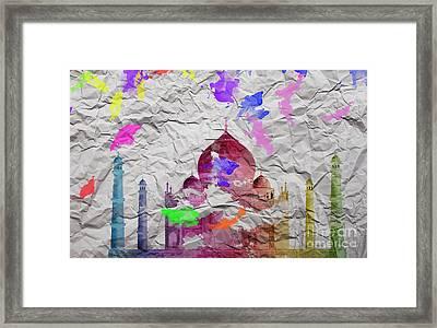 Taj Mahal Framed Print by Image World