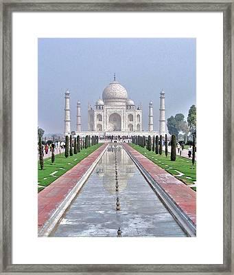 Taj Mahal Framed Print by Kim Bemis
