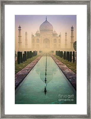 Taj Mahal Predawn Framed Print