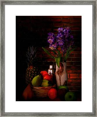 Take A Break Framed Print by Lourry Legarde