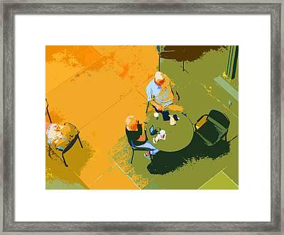 Take A Break Framed Print