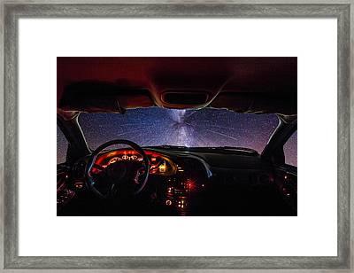 Take A Little Trip Framed Print by Aaron J Groen