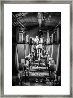 Take A Little Trip Framed Print